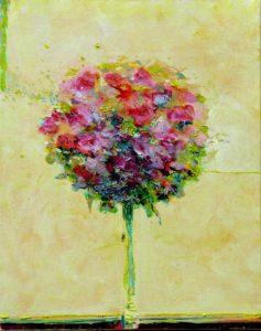 Mon bouquet heureux de te revoir 50 cm x 40 cm 2013