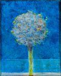 Les doux bruissements dans ton bouquet vers 22h15 40 cm x 30 cm 2013