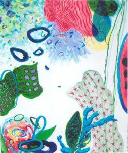Le jardin d'Asna 38 cm x 46 cm 2005