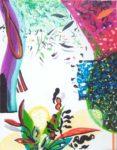 Le jardin d'Arthuriane 27 cm x 35 cm 2005