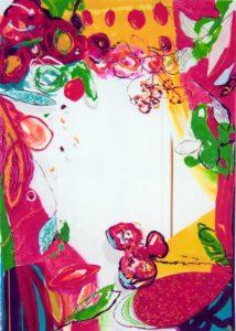 Le jardin d'Atina 116 cm x 81 cm 2005