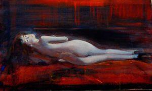 Suite Charles Baudelaire, un soir 55 cm x 33 cm 2013