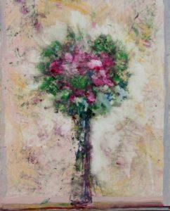 La mydriase de ton bouquet vers 15h10 41 cm x 33 cm 2013
