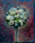 Au point du jour votre bouquet s'ébat 46 cm x 38 cm 2013