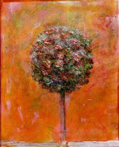 Ton bouquet écoutant Les Indes Galantes 41 cm x 33 cm 2013