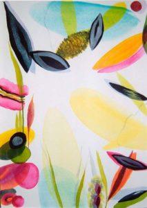 Le jardin d'Aloïse 92 cm x 65 cm 2005