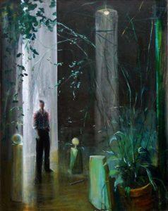 Dans l'atelier d'Igor, vers 21h15 92 cm x 73 cm 2013