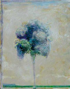 La petite éclaircie sur ton bouquet un matin vers 10h10 41 cm x 33 cm 2013