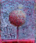 Ton bouquet et son désir d éclipse un soir vers 23h40 46 cm x 38 cm 2013