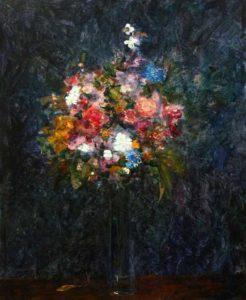 Ton bouquet aussi ne dort pas la nuit 46 cm x 38 cm 2014