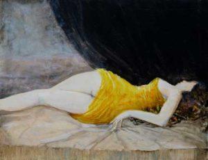 Valentina,un soir  35 cm x 27 cm 2014