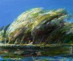 Adonis découvrant la beauté de Vénus un jour de tempête 55 cm x 46 cm 2014