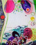 Le jardin d'Athanaïse 30 cm x 24 cm 2006