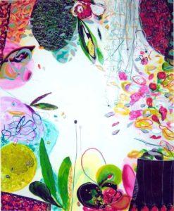 Le jardin d'Audrée 165 cm x 130 cm 2006