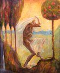 Adam et Eve chassés du paradis. - 100cm x 81cm - 2020