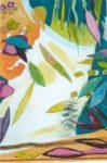 Le jardin d'Amaryllis 82 cm x 54 cm 2005