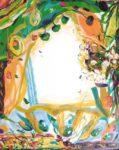 Le Jardin d'Audeline 92 cm x 73 cm 2006