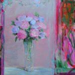 Ce qu'il me restera de vous. Un matin d'Avril, dans l'atelier de Valentine 60cm x 60cm  2015