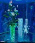le rendez-vous à «l'heure bleue» 55cm x 46cm  2015