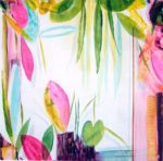 Le jardin d'Eve 120 cm x 120 cm 2005