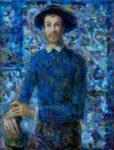Armand dans son atelier 18cm x 14cm  2015