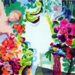 Jardin de Baudry 40 cm x 40 cm 2006
