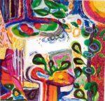Jardin de Beotie 100 cm x 100 cm 2006