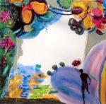 Jardin de Bojan 100 cm x 100 cm 2006