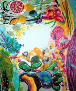 Jardin de Bathilde 100 cm x 81 cm 2007
