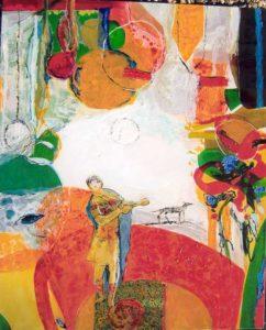 Jardin de Choza 100 cm x 81 cm 2007