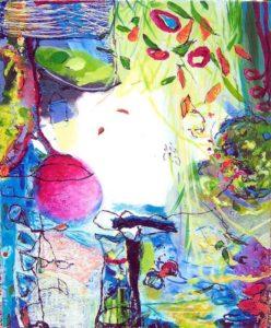 Jardin de Chiara 100 cm x 81 cm 2007