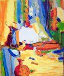 Jardin de Cilia 46 cm x 38 cm 2007