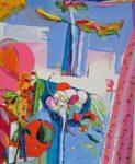 Jardin de Clarine  100 cm x 81 cm 2008
