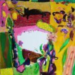 Jardin de Cannelle 100 cm x 100 cm 2008