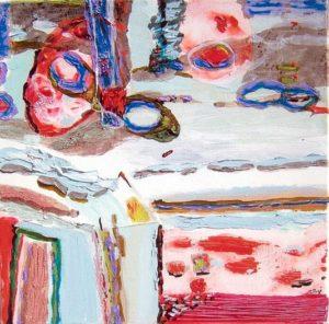Jardin de Corelia 40 cm x 40 cm 2008