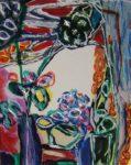 Jardin de Colombine 41 cm x 33 cm 2008