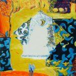 Jardin de Dahbia 100 cm x 100 cm 2008