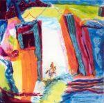 Jardin de Cypriane 100 cm x 100 cm 2008