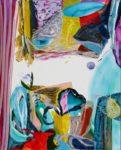 Jardin de Dahlia 100 cm x 81 cm 2008