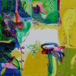 Jardin de Dalal  100 cm x 100 cm 2008