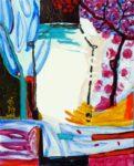 Jardin de Cyriel 100 cm x 81 cm 2008