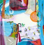 Jardin de Davila 100 cm x 100 cm 2009