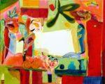 Jardin de Delvina 162 cm x 130 cm 2009