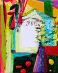 Jardin de Déna 100 cm x 81 cm 2009
