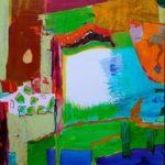 Jardin de Despina 100 cm x 100 cm 2009