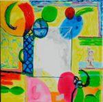Jardin de Dovan 50 cm x 50 cm 2009