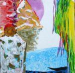 Jardin d'Edmire 20 cm x 20 cm 2009