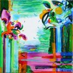 Jardin d'Ebal  50 cm x 50 cm 2009