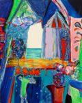 Jardin d'Emad 92 cm x 73 cm 2009