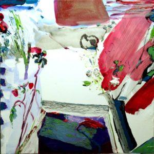 Jardin d'Enea 80 cm x 80 cm 2010